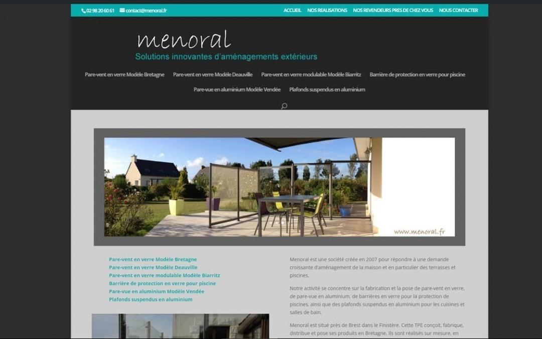 Refonte du site web Menoral.fr à Logonna-Daoulas