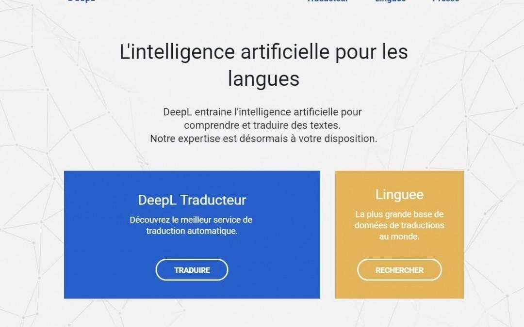 Outil en ligne : DeepL le meilleur traducteur actuel