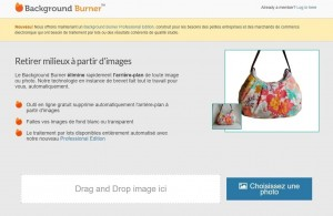 Outil en ligne : Background Burner supprime le fond des images | ESIO Informatique