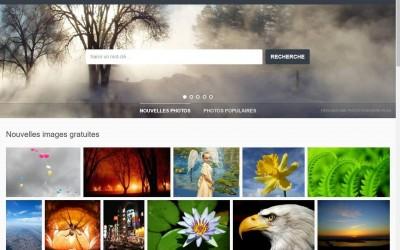 Outil en ligne : moteur de recherche de photos gratuites