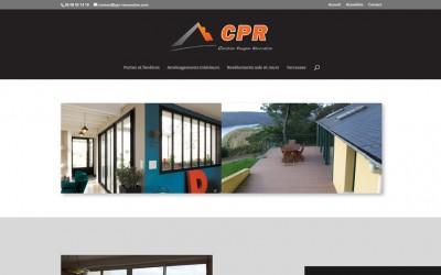 Nouveau site web : CPR Rénovation à Hanvec
