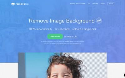 Removbg, appli en ligne pour supprimer les fonds d'images