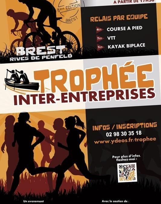 Nouvelle victoire d'ESIO Informatique au Trophée Inter-entreprises de Brest Penfeld !