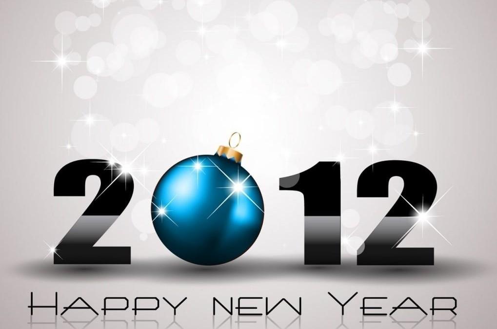 Meilleurs voeux pour 2012 !