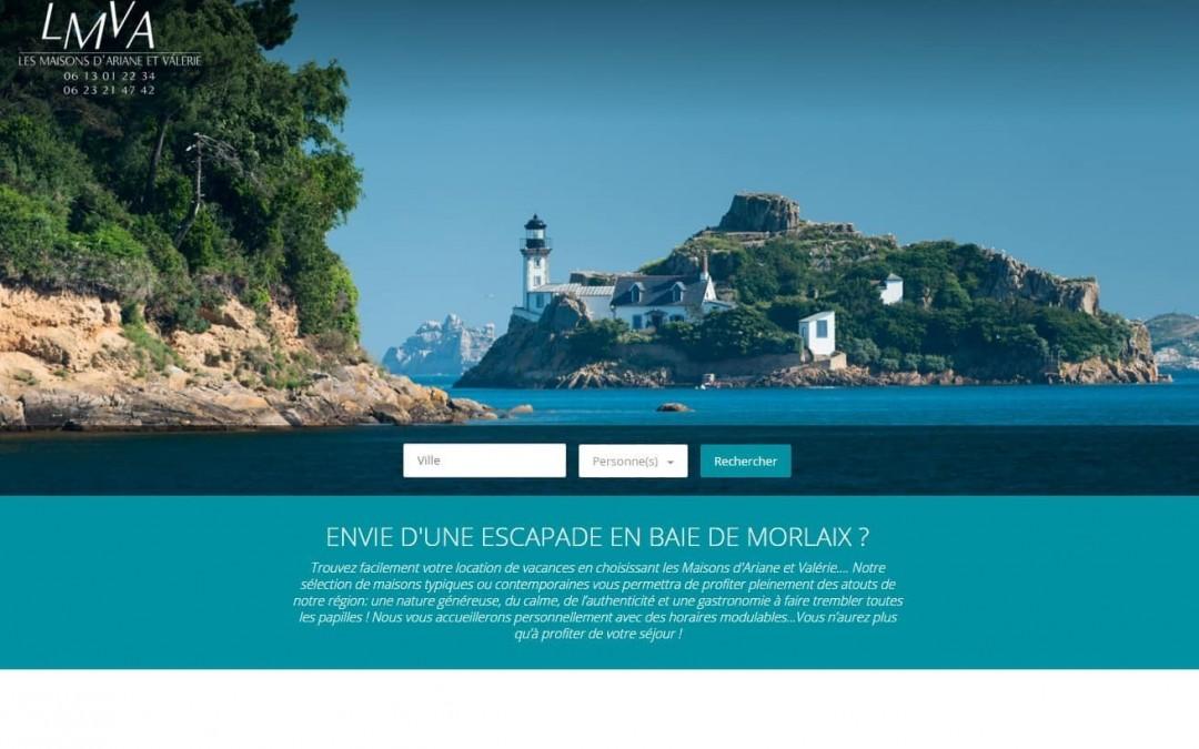 Nouveau site réalisé par ESIO Informatique, LMVA à Plougasnou | ESIO Informatique