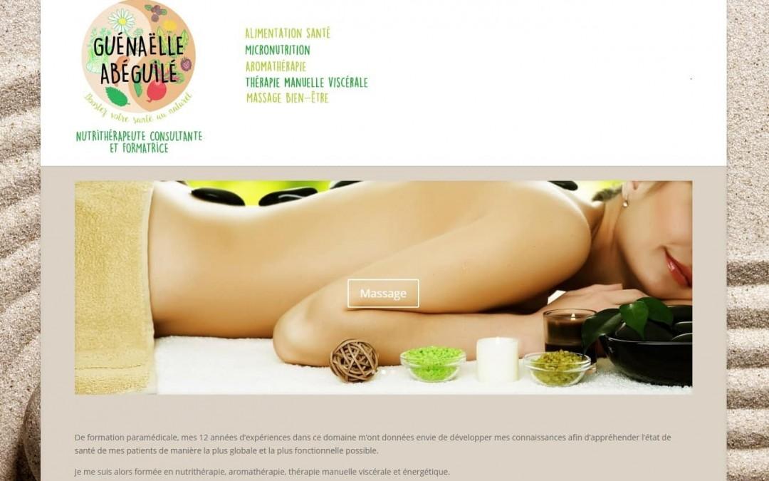 Réalisation d'un nouveau site web : Nutri Aroma Santé