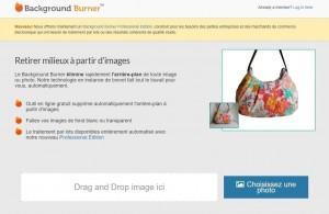 Outil en ligne : Background Burner supprime le fond des images | ESIO Informatique