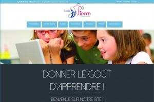 site-ecole-st-pierre-plouga | ESIO Informatique