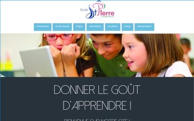 Nouveau site internet : Ecole St Pierre à Plougastel-Daoulas