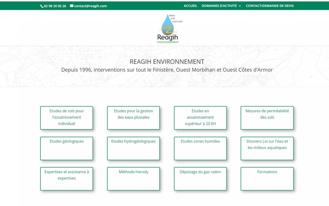 Nouveau site internet, Reagih à L'Hôpital-Camfrout | ESIO Informatique
