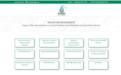 Nouveau site internet, Reagih à L'Hôpital-Camfrout