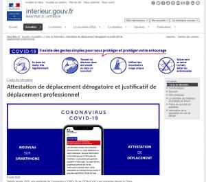 attestation-covid   ESIO Informatique